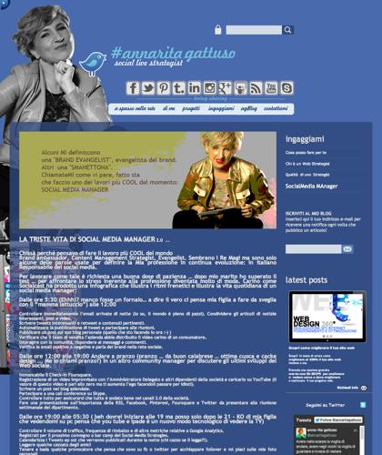 A Spasso Per La Rete, Annarita Gattuso, Annarita Gattuso Blog, Strategia Olistica, Marketing Virale, Marketing Non Convenzionale, Comunicazione Olistica, Comunicazione Fengshui