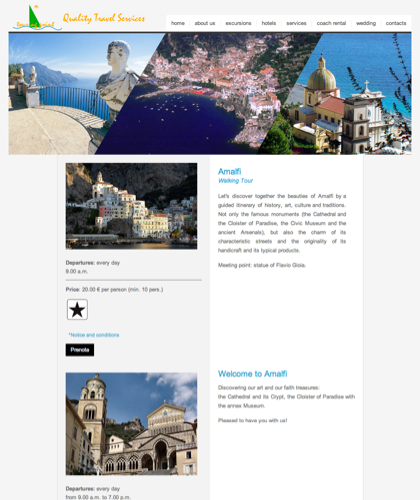 Amalfi - Amalfi Coast Touring - Quality Travel Services
