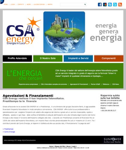 Agevolazioni & Finanziamenti - Csa Fotovoltaico - Energia In Luce