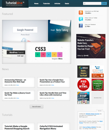 Tutorialzine | Web Development Tutorials & Resources