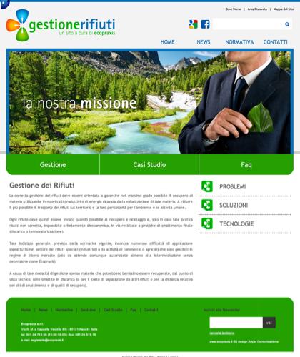 Gestione Rifiuti - Gestione - Ecopraxis -