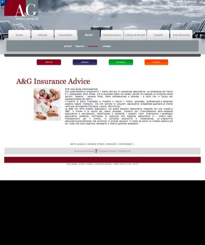 A&g Advisory Group Srl  - Insurance Advice - A & G - A&g Advisory Group, Azienda, Servizi, Consulenza, Comunicazione, Cultura & Società, Privati, Imprese, Sicurezza, Energia