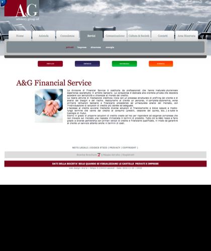 A&g Advisory Group Srl  - Financial Service - A & G - A&g Advisory Group, Azienda, Servizi, Consulenza, Comunicazione, Cultura & Società, Privati, Imprese, Sicurezza, Energia