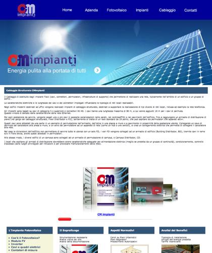 Cablaggio Strutturato Cmimpianti - Cm Impianti - Energia Solare Impianti Elettrici Cablaggio Strutturato
