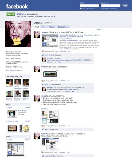 Browser Incompatibile   Facebook