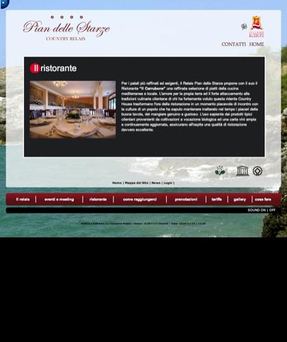 Ristorante - Hotel Relais Pian Delle Starze - Intro