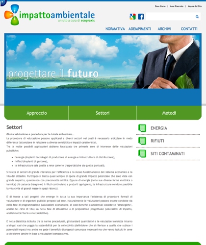 Impattoambientalesettori - Ecopraxis -