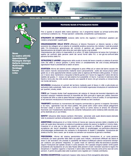 Mission - Movips - Manifesto Del Movimento Ideale Di Partecipazione Sociale