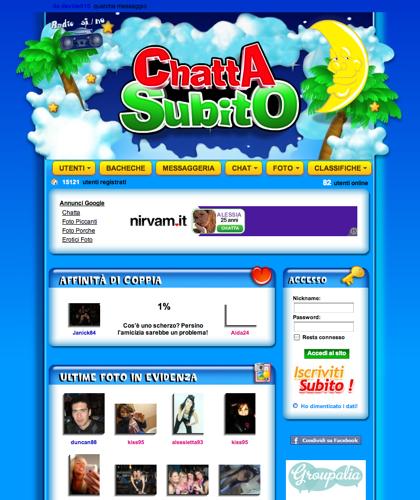 Chatta Subito | Incontra Nuovi Amici Da Tutta Italia!