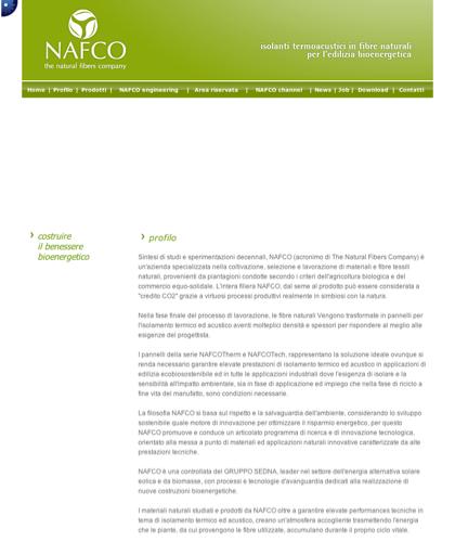 Profilo - Nafco - Costruire Il Benessere Bioenergetico
