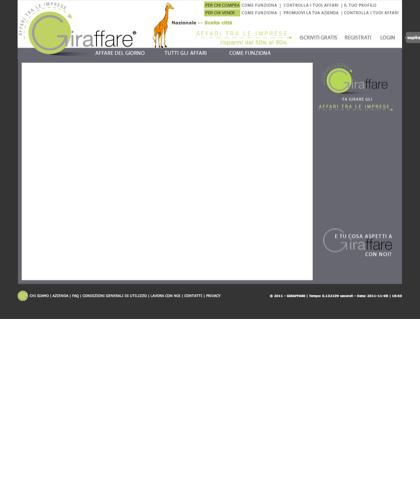 Come Funziona Video - Giraffare -  Aziende In Affari, Il Portale Delle Imprese Industriali, Artigianali E Di Servizi, Giraffare , Aziende,imprese,industria,commercio,aziende In Affari Localport,acquisto,on Line,e-commerce,portale.b2b