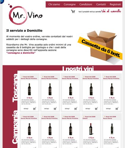 Vino Vini A Domicilio Napoli - Mr Vino - Vino A Domicilio Napoli