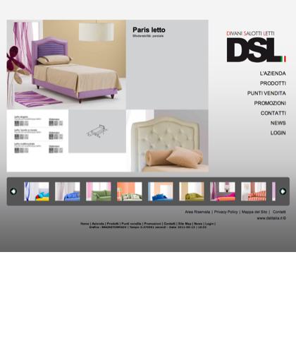 Paris - Divani Salotti Letti - Dsl - Quality Has A Name - Dsl Italia - Paris Letto Sfoderabilità: Parziale