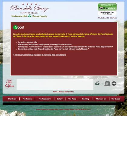 Sport - Hotel Relais Pian Delle Starze - Intro
