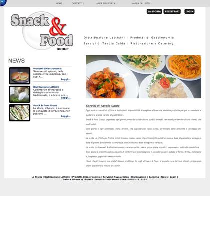 Servizi Di Tavola Calda Snack & Food - Snack & Food - Snack & Food Group  Da Oltre 10 Anni Fornisce Servizi Professionali Di Distribuzione A Commercianti E Utenti Finali Di Prodotti Derivati Dal Latte, Prodotti Semilavorati O Finiti, Di Gastronomia, Servi