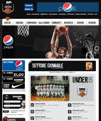 Under 15 - Juvecaserta -  Basket Juventus Caserta Pallacanestro. Associazione Sportiva, Campionato Italiano Basket. International Championship Basket Ball.