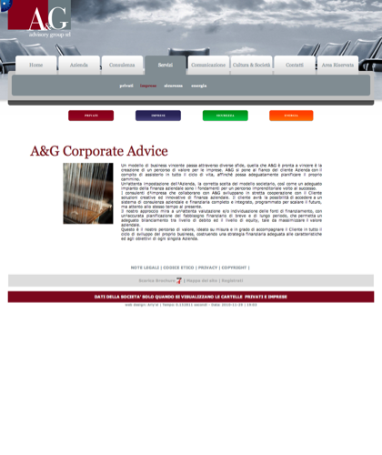 A&g Advisory Group Srl  - Corporate Advice - A & G - A&g Advisory Group, Azienda, Servizi, Consulenza, Comunicazione, Cultura & Società, Privati, Imprese, Sicurezza, Energia