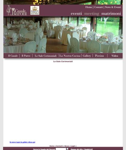 Galleria Le Sale Cerimoniali - Casale Dei Baroni - Matrimoni, Location, Ville, Casali, Residenze, Tenute, Sposi, Ricevimenti, Masserie, Nozze, Wedding Planners, Catering, Banqueting, Agriturismo, Bed & Breakfast