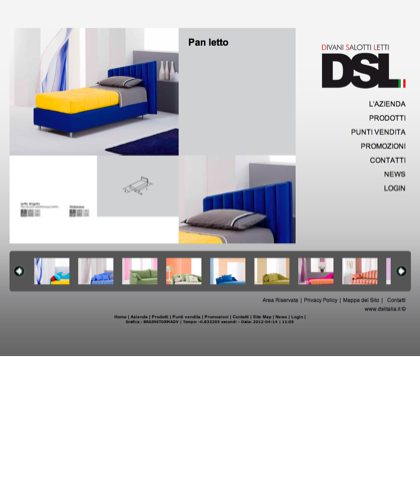 Pan - Divani Salotti Letti - Dsl - Quality Has A Name - Dsl Italia - Pan Letto