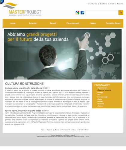 Cultura Ed Istruzione - Master Project - Consulenza E Servizi Integrati Per La Finanza Agevolata