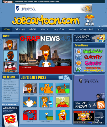Joecartoon- Animation, Funny Videos, Cartoons & More