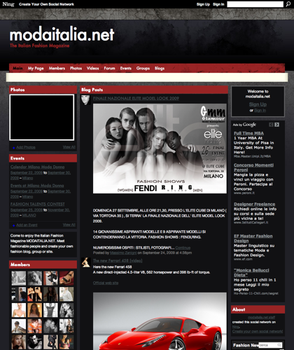 Modaitalia.net - The Italian Fashion Magazine