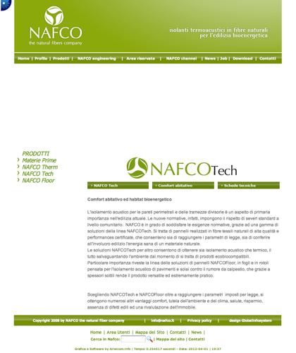 Nafco Tech - Comfort Abitativo - Nafco - Soluzioni Ecocompatibili Ad Altissime Prestazioni