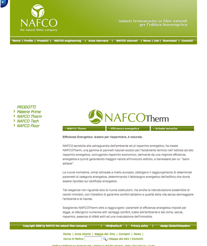 Nafco Therm - Efficienza Energetica - Nafco - Isolare Per Risparmiare, è Naturale