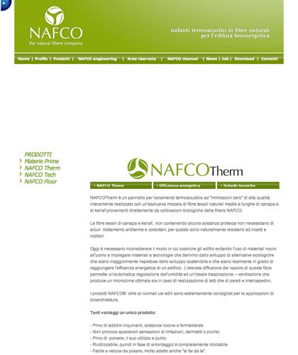Pannelli Per Isolamento Acustico Nafco Therm - Nafco - Efficenza Bioenergetica
