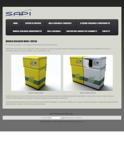 Modulo Ecologico Monoprodotto - Sapi - Sapi