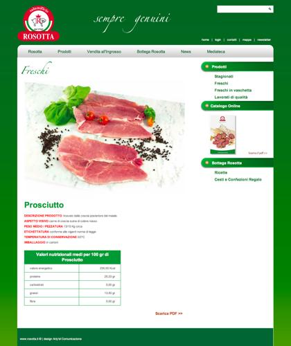 Freschi - Prosciutto - Rosotta - Rosotta Salumificio Dal 1962