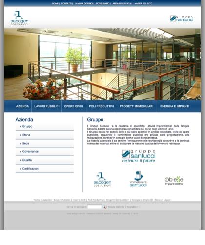 Azienda - Gruppo - Sacogen - Costruzioni Civili E Industriali Sacogen