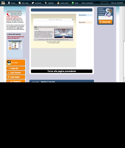 Icone Siti Web Miniature - Thumbnails