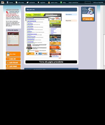 Www.aal-c.org Icone Siti Web Miniature - Thumbnails