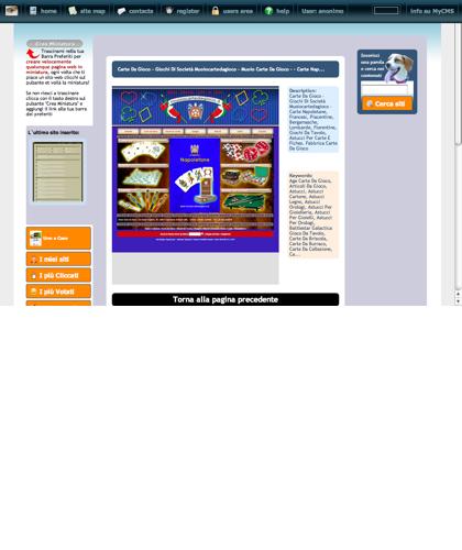 Carte Da Gioco - Giochi Di Societ� Muoiocartedagioco - Muoio Carte Da Gioco -  - Carte Nap... Icone Siti Web Miniature - Thumbnails