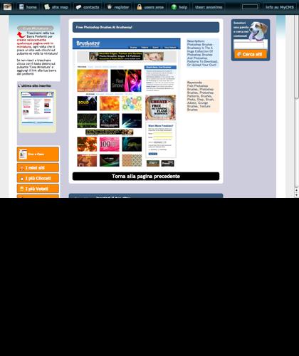 Free Photoshop Brushes At Brusheezy! Icone Siti Web Miniature - Thumbnails