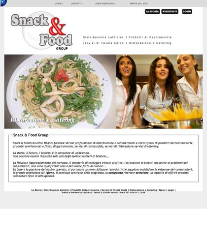 Snack 6 Food Group - Snack & Food -  - Latticini - Servizi Di Catering - Tavola Calda - Prodotti Di Gastronomia