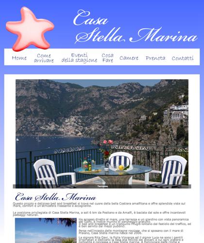 Casa Stella Marina Praiano  Copia - Stella Marina Praiano - Stella Marina Praiano Bed & Breakfast Amalfi Affittasi Appartamenti E Camere