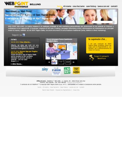 Web Agency Belluno - Webpoint ™ Belluno