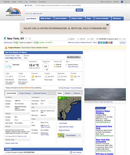 Weather Forecast New York, Ny | New York Weather | Wunderground