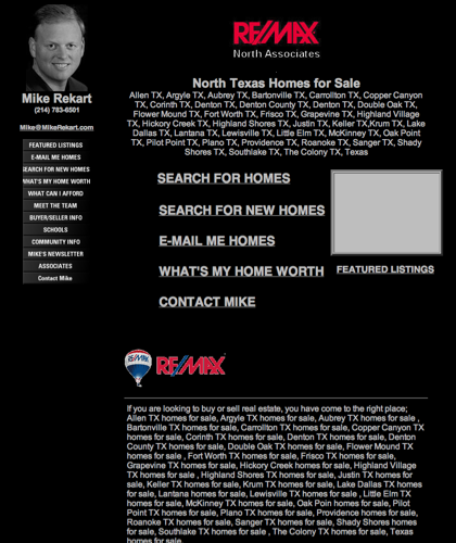 North Texas Homes For Sale, Mike Rekart