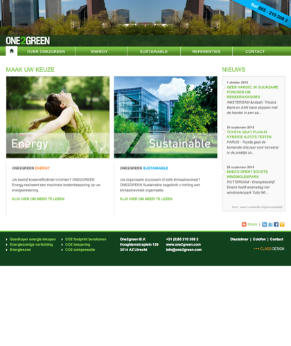 One2green B.v.  - Specialisten In Energiebesparing