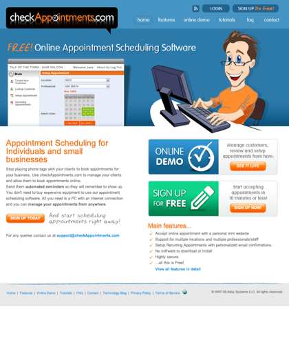 Free Online Appointment Scheduling Software For Easy Appointment Management For Your Business
