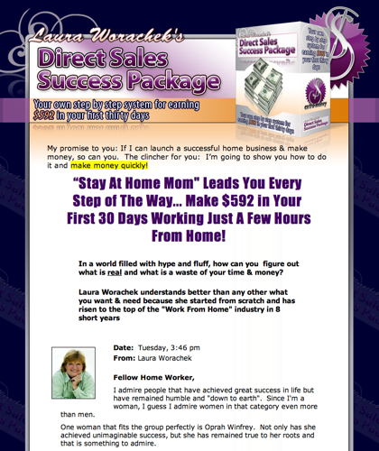 Direct Sales Opportunities To Make Money From Home