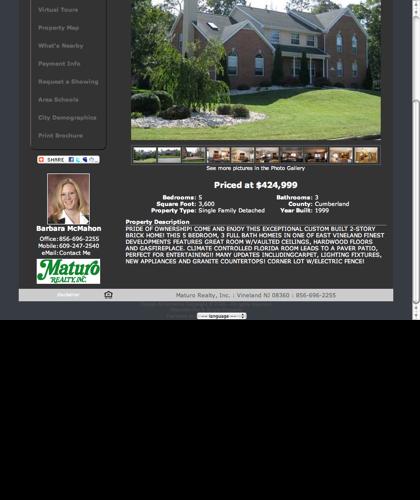 3151 Brookfield St. For Sale, Vineland Nj Real Estate