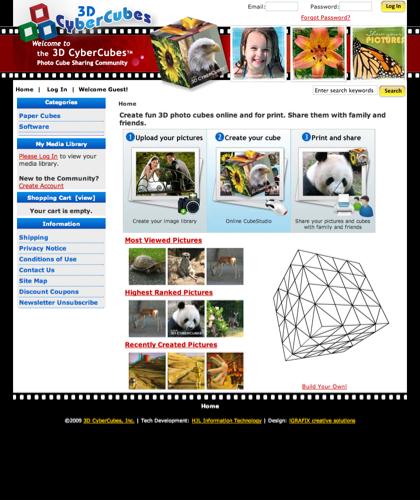 3dcybercubes,  Online Community