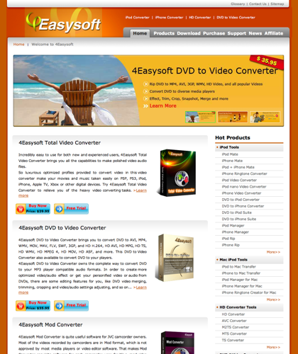 4easysoft Dvd To Ipod Converter And Ipod Video Converter, Best Dvd To Ipod Converter And Ipod Video Converter Provider.