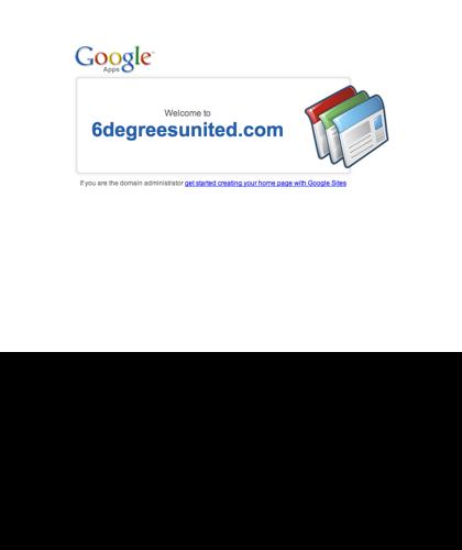 Welcome To 6degreesunited.com