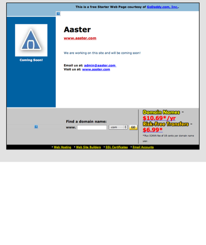 Hugedomains.com - Aaster.com Is For Sale (a Aster)
