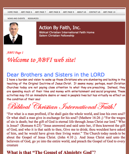 Action By Faith, Inc